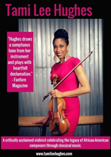 The Legacy Show featuring Tami Lee Hughes, Violinist